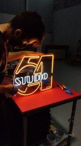 Neón Studio54